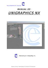 manual unigraphicsnx
