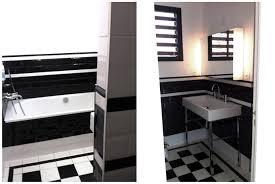 Carrelage Salle De Bain Blanc by Indogate Com Decoration Salle De Bain Noir Et Blanc