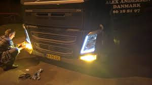 how to tint your fog lights yellow on a volvo fh4