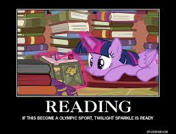 Reading Meme - twilight sparkle reading meme by antogames on deviantart