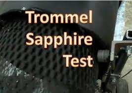 homemade gold trommel design reverse helix gold trommel sapphires youtube