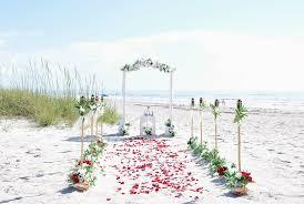 wedding arches coast wedding arch and tiki torch aisle www