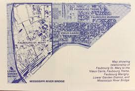 Map Of Marigny New Orleans by The Historic Faubourg St Mary Corporation Is Established Nola