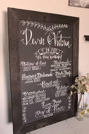 chalkboard wedding program template 25 best wedding program chalkboard ideas on wedding