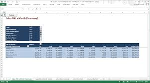 account sales reports using excelreportlink sales pivot solution