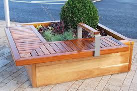 planter bench plans diy planter bench diy project