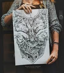 download yggdrasil sleeve tattoo danielhuscroft com