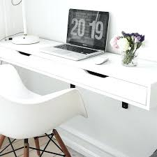 Desks For Small Space Wall Hung Desk Small Space Powerhouse The Best Mounted Floating