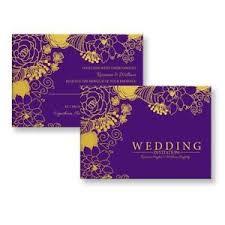 Purple Wedding Invitations Personalised Wedding Invitations Wedding Supplies Ebay