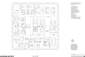 New Floor Plan 432 Park U0027s New 76 5m Ph Has Old But Good Floorplan Curbed Ny