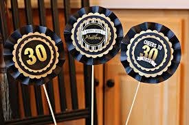 30th birthday decorations 30th birthday centerpiece centerpiece sticks 30th birthday