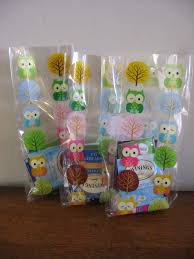needle and spatula owl themed baby shower wrap up
