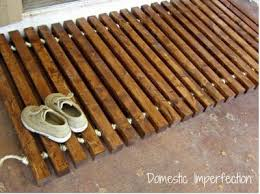 Hardwood Floor Mat Diy Wood Floor Mat Custom Order Pinterest Diy Wood Floors