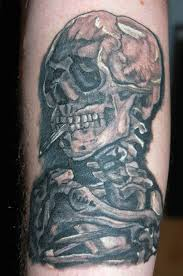 skulls smoke tattoo pictures cool tattoos bonbaden