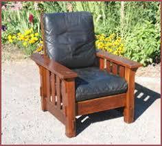 voorhees craftsman mission oak furniture morris chairs