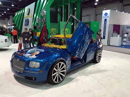 blue girly cars top 10 worst ugly and tacky cars from sema 2015 autoguide com news