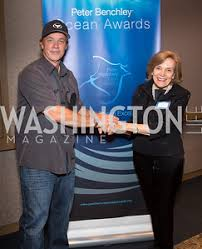 Peter Benchely - peter benchley ocean awards l erin schaff washingtonlife