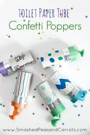 new years party poppers make confetti blowers basteln confetti