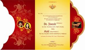 wedding cards design luxurious gold wedding card designs colored loking style