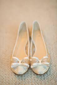 ivory and silver kate spade bridal flats