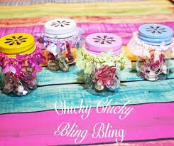 jar party favors diy plastic jar party favor gifts with cut lids