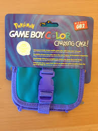 game boy color pokémon carrying case with free painting album on