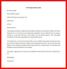 sample of official letter apa example