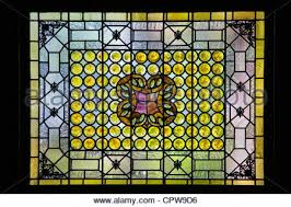 Louis Comfort Tiffany Stained Glass A Classic Louis Comfort Tiffany Stained Glass Window In St Stock