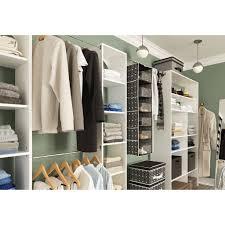 Closetmaid White Closetmaid Cabinets Closet Home Depot Organizer Systems Elfa