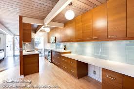 lush vapor 4x12 pale blue glass subway tile kitchen backsplash