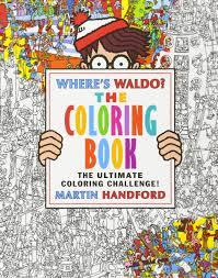 where u0027s waldo the coloring book martin handford 9780763688448