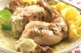 cuisiner le lapin en sauce mijoté de lapin sauce oseille