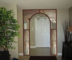 Home Interior Arch Designs by Laying Up A Laminated Door Arch