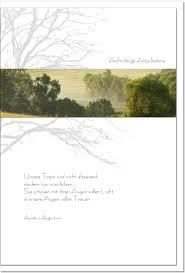 aufrichtige anteilnahme spr che trauerkarte im licht landschaft im nebel metalum 00074