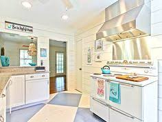 Coastal Cottage Kitchens - blue lake cottage kitchen gridley graves photographers cool