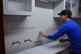 kitchen pegboard ideas how to install a pegboard how tos diy