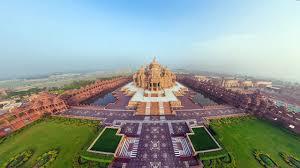 world largest hindu temple akshardham temple youtube