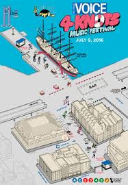 East River Ferry Map 4knots Music Festival This Weekend Set Times U0026 Map Now Available