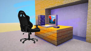 Minecraft How To Make A Furniture by Minecraft How To Make A Gaming Chair Youtube