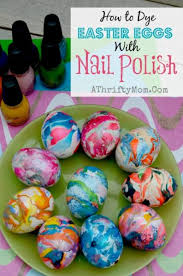 dye for easter eggs nail swirl easter eggs how to dye easter eggs with nail