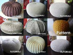 Crochet Ottoman Pattern Free Crochet Floor Pouf Tutorial Floor Pouf Free Crochet And