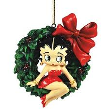 betty boop ornaments