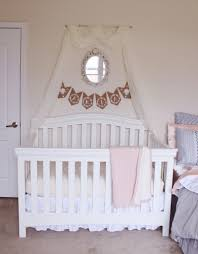 Pink Curtains For Nursery by Boho Chic Nursery