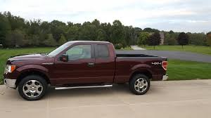 Ford F150 Truck Rims - dark red royal red burgundy f150 with black rims ford f150 forum