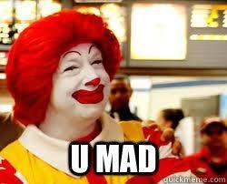 Ronald Mcdonald Phone Meme - angry ronald mcdonald memes memes pics 2018