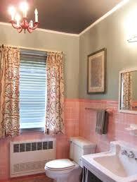pink bathroom decorating ideas pink tile bathroom onewayfarms com