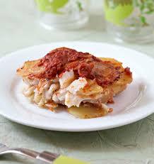 cuisine morue gratin de morue et pommes de terre à la tomate les meilleures