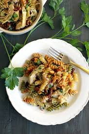 yummy pasta salad easy pasta salad with artichoke hearts and sun dried tomatoes