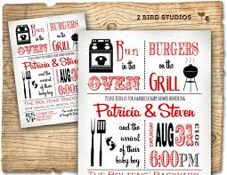 baby shower invitation boy baby shower bbq barbecue invite