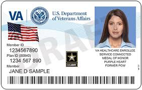 new id cards for vets enrolled in va health care veterans